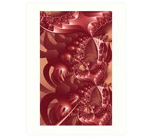 Shell Pong Image 1 CP + Parameter Art Print