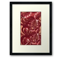 Shell Pong Image 1 CP + Parameter Framed Print