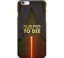NoMrBond iPhone Case/Skin