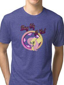 Cool Shy Fluttershy 2 Tri-blend T-Shirt