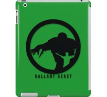 Gallant Beast iPad Case/Skin