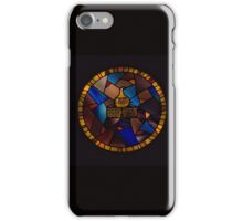 Old Bushmills Distillery Stained Glass Window iPhone Case/Skin