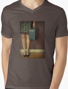 Never To Look Back Mens V-Neck T-Shirt