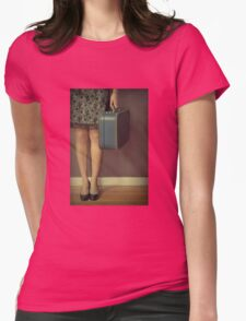 Never To Look Back Womens Fitted T-Shirt