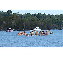 Raft race Photographic Print