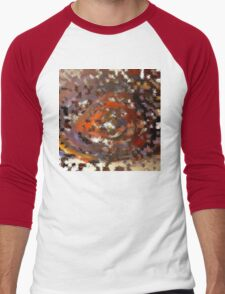 Burr Men's Baseball ¾ T-Shirt
