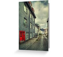 Mystery Street Greeting Card