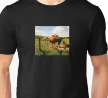 Country Cows Unisex T-Shirt