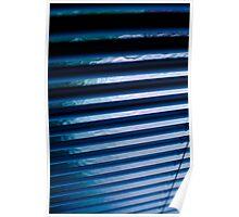 Blue Bars Poster