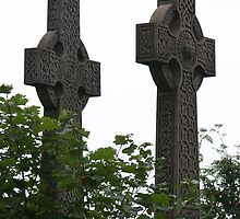 Celtic Crosses by Bernadette Watts