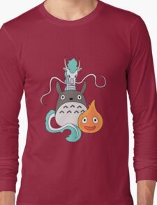 A tribute to Hayao Miyazaki (Updated) Long Sleeve T-Shirt