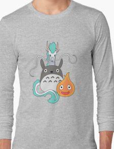A tribute to Hayao Miyazaki (Updated) Long Sleeve T-Shirt