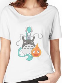 A tribute to Hayao Miyazaki (Updated) Women's Relaxed Fit T-Shirt