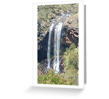 Ebor Falls, Waterfall Way, NSW Greeting Card