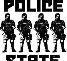 Police State by johncottrell