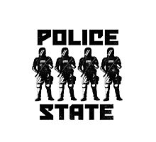 Police State Photographic Print