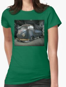 Phil Mizzi's 1954 Volkswagen Kombi Single-Cab Womens Fitted T-Shirt