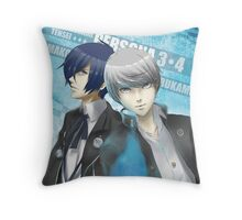 Protagonists Throw Pillow