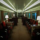First Class Lounge Car - UPRR - Durham Museum, Omaha Series by Jack McCabe