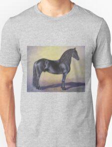 """""""Mink""""   Friesian Stallion T-Shirt"""