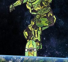 Masterchief's ollie! by Hlodwig