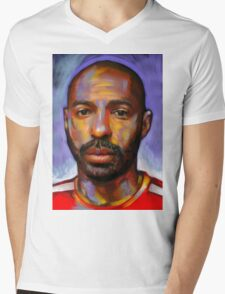 Thierry Henry - The King Mens V-Neck T-Shirt