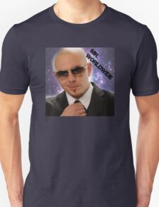Mr.Worldwide /Pitbull/ Unisex T-Shirt