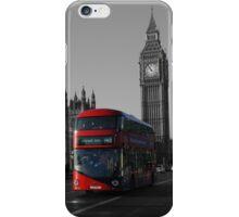 Bus and Big Ben, London UK iPhone Case/Skin
