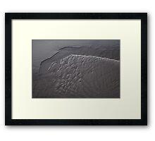 Tidal Art Framed Print