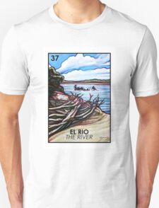 El Rio - The River - Loteria T-Shirt