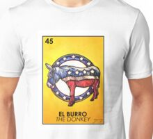 El Burro - The Donkey - Loteria Unisex T-Shirt