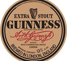 Old Style Guinness Logo - David Gilmour by Firewallmud