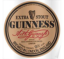 Old Style Guinness Logo - David Gilmour Poster