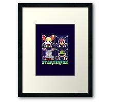 STARTERFOX: Pokemon Unit Framed Print