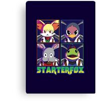 STARTERFOX: Pokemon Unit Canvas Print