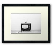 Classic TV Framed Print