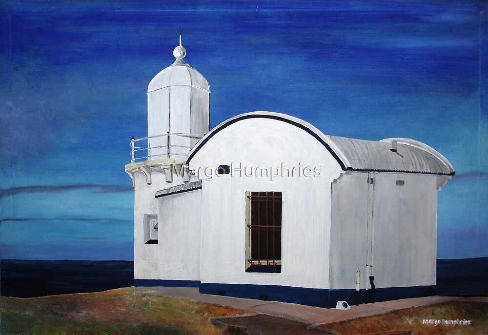 Tacking Point Lighthouse by Margo Humphries