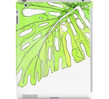 monstera vivid iPad Case/Skin