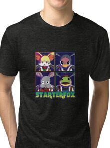 STARTERFOX: Pokemon Unit Tri-blend T-Shirt