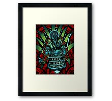 Furkten The Explorer-Scientist Framed Print