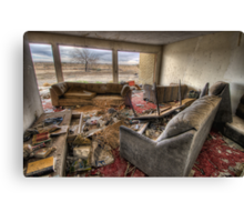 Room at the Motel Canvas Print