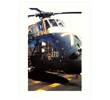 Westland Wessex ASW Helicopter Art Print