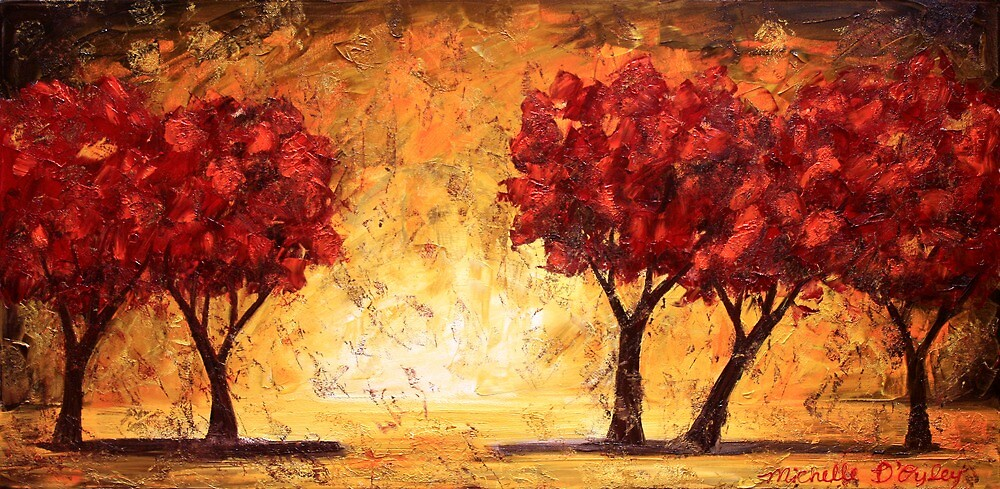 The Light Before the Trees by Abstract D'Oyley