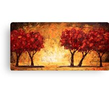 The Light Before the Trees Canvas Print