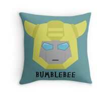 Bumblebee G1 Throw Pillow