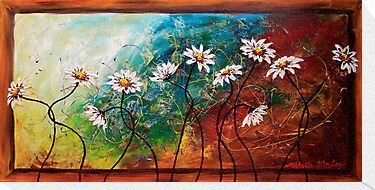 The Tangle of Daisies by Abstract D'Oyley
