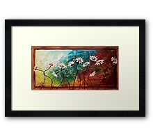 The Tangle of Daisies Framed Print