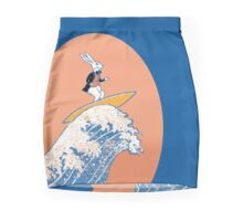 White Rabbit Surfing Pencil Skirt