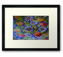 Daisies and Tulips Framed Print