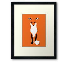 """The Trickster """"Kitsune"""" Framed Print"""